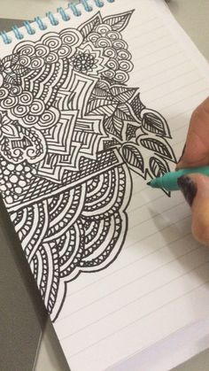 It's a new year and that means trying new things! Zen out and reduce stress by drawing, coloring, and making art with these 7 DIY ideas.