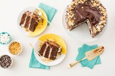 19 Holiday Cake Recipes to Make You Forget About Pie via Brit + Co
