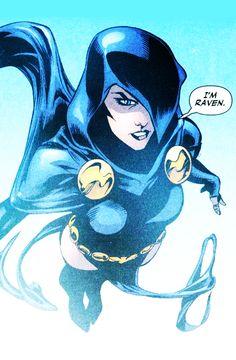 Raven in Teen Titans #6 (2008) - Julian Lopez, Prentis Rollins & Edgar Delgado