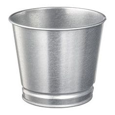 IKEA - BINTJE, Plant pot, galvanized, Galvanized for rust resistance. Decorate your home with plants combined with a plant pot to suit your style. Indoor Plant Pots, Potted Plants, Ikea Plants, Ikea Ps, Home Fix, Ceramic Pots, Galvanized Steel, Artificial Plants, Potpourri
