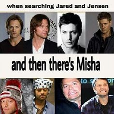 I don't know, there are some pretty hilarious pictures of Jared and Jensen out there, particularly Jared.