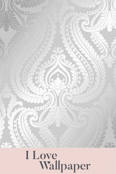 This luxurious soft grey damask wallpaper is the latest addition to our tremendously successful Shimmer Metallic wallpaper collection. This perfectly executes our design brief of a classical damask design enhanced with contemporary colours, and complimented with our famous 'Shimmer' metallic inks. All of which combine beautifully to create a wallcovering fit to grace the finest of homes. Grey Damask Wallpaper, Metallic Wallpaper, Love Wallpaper, Compliments, Projects To Try, Homes, Colours, Contemporary, My Love