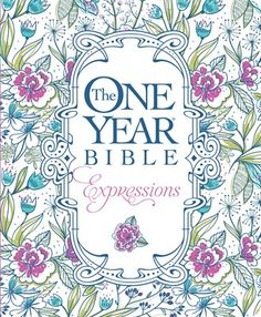 The One Year Bible Expressions contains the entire text of the New Living Translation divided into 365 daily readings. Each day's reading includes portions from the Old Testament, New Testament, Psalms, and Proverbs—guiding readers through the entire Bible in one unforgettable journey that's easier than ever to make your own (978-1-4964-2016-9)
