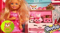 Chelsea enseña a Barbie su colección de Shopkins de Ballet - Capítulo #18