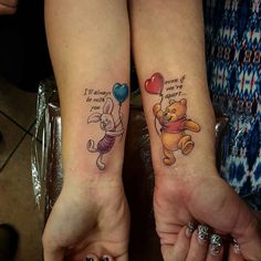 Winnie-the-Pooh quote tattoo by Josh Palmer
