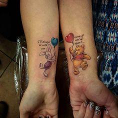 Winnie-the-Pooh quote tattoo by Josh Palmer