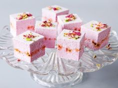 All Things Marshmallow recipe - Rosewater and Pistachio Marshmallow