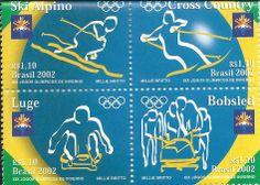 stamps - selos do Brasil, Jogos de Inverno, 2002.