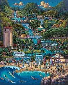 North Shore (1000 Piece Puzzle by Dowdle)