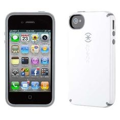 NEW Speck Products White/Gray CandyShell Glossy Case for iPhone 4/4S Retail Pkg    Get more collection on http://101-gadgets.com