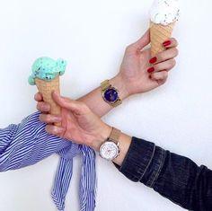 Ice cream time  #summertime #LW37 #LW42 www.larsenwatches.com