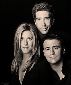 Jennifer Aniston, Friends - Rachel, Ross, Joey