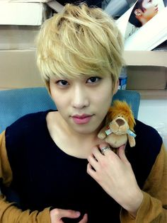 Hyunseong and his Lion