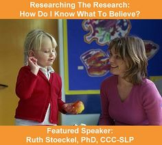 Is the article your reading on Childhood Apraxia of Speech from a trusted source or are you grasping at straws? Is the research study you're reading from a professional journal regarding a rigorous clinical trial? There are claims of treatments for many disorders are easily recognized as unlikely to be true. This webinar will focus on the use of science and pseudoscience and how to evaluate levels of evidence for different types of studies to aid in making judgments about trying treatments.