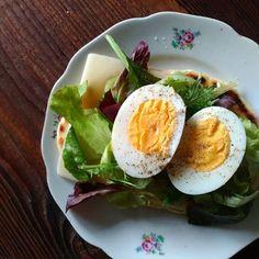 Avocado Egg, Eggs, Snacks, Breakfast, Food, Morning Coffee, Appetizers, Essen, Egg