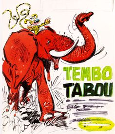 Marsupiliami, Tembo Tabou, Illustrated by Andre Franquin