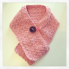 Easy Peasy Mini Scarf free crochet pattern, gratis haakpatroon