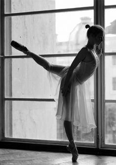 Dance in the window...