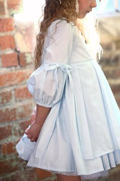 Nora Dress - Violette Field Threads i love the sleeves but would want it longer Little Dresses, Little Girl Dresses, Cute Dresses, Vintage Dresses, Short Dresses, Flower Girl Dresses, Baby Girl Fashion, Kids Fashion, Fashion Outfits