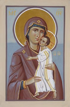 Богоматерь — АНАСТАСИС Madonna, Roman Church, Christ The King, Orthodox Christianity, Orthodox Icons, Blessed Mother, Mother Mary, Religious Art, Our Lady