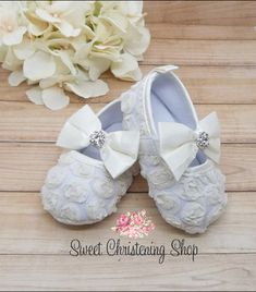 Lacey socks for baby  Christening Blessing Baptism Naming Infant Girl Formal Wear Wedding booties click photo to see more elegant designs