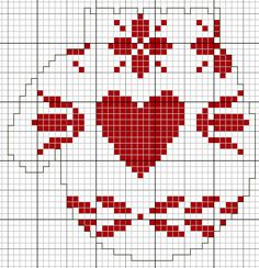 Cross Stitch Pattern *<3*- Mittens