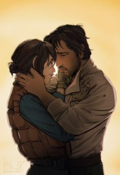 Too beautiful. Just waiting for them to kiss... but the never did >:( for the first time, I'm actually angry about that fact. But I'm glad it was them. #starwars