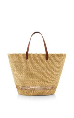 Andree Straw Tote by Muun Now Available on Moda Operandi