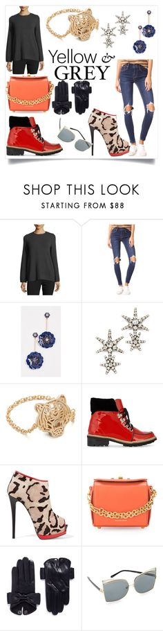 """""""Winter essentials"""" by kate-winslet-143 ❤ liked on Polyvore featuring philosophy, Levi's, Kate Spade, Jennifer Behr, Kenzo, Ganni, Giuseppe Zanotti, Alexander McQueen, Maison Fabre and N°21"""