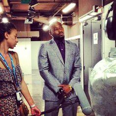 Omar Epps backstage interview after #canneslions talk with @sapientnitro. Instagram photo by @ktminx (Kate Minkner) | Statigram