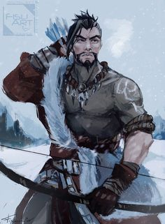"""kalakenka: """" Here's quick fan art for this amazing Hanzo skin/outfit concept. Originally designed by nabinssei. I want this in game *__* Blizzard ples """" Overwatch Hanzo, Overwatch Comic, Overwatch Memes, Overwatch Fan Art, Fanart Overwatch, Character Concept, Character Art, Concept Art, Character Design"""