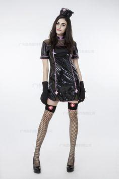 73732c7e4f631 コスプレ ナース ナース服 ピンク 黒衣 医者 セクシー 血 ゾンビ ハロウィン -Halloween-trw0725-0110