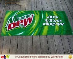 mt dew beach  towel Best Soda, Mountain Dew, Good Ol, Pepsi, Beach Towel, Inspirational, My Favorite Things, Baby, Ideas