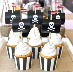Pirate and Princess Themed Party Food | Party Invitations UK Blog