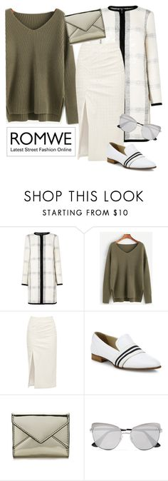 """""""Draco"""" by chelsofly on Polyvore featuring L.K.Bennett, Walk of Shame, rag & bone, Rebecca Minkoff, Prada, contest, romwe, contestentry and greensweater"""