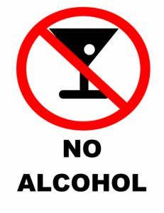 Alcohol is a metabolic toxin that carries with it some health risks. Its impact on the body is far reaching causing irritation to the lining. No Drinking Sign, Sober Celebrities, Gout Remedies, 100 Day Challenge, Alcohol Free, No Alcohol, Alcohol Signs, Get Ripped, Sign Templates