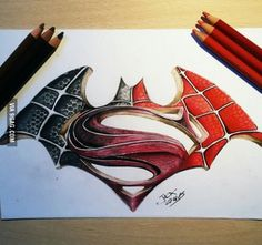When you can't decide if you're a batman, spiderman or superman fan