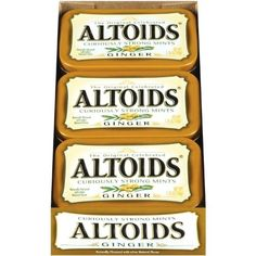 Ginger Altoids | I must find these!
