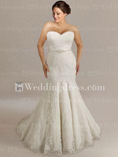 Plus Sized Wedding Gown http://www.inweddingdress.com/plus-size-wedding-dresses-ps161.html  Keywords: #plussizeweddinggowns #jevelweddingplanning Follow Us: www.jevelweddingplanning.com  www.facebook.com/jevelweddingplanning/