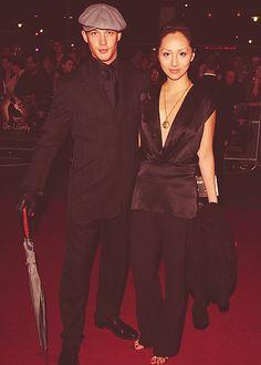 Tom Hardy and  Linda Park (ex girlfriend)