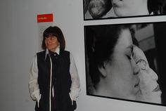 Marisa González en #ArteTabacalera en una visita a su exposición Registros Domesticados