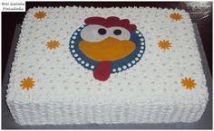 http://patyshibuya.com.br/ Bolo Decorado by Paty Shibuya Decorated Cake by Paty Shibuya Bolo da Galinha Pintadinha