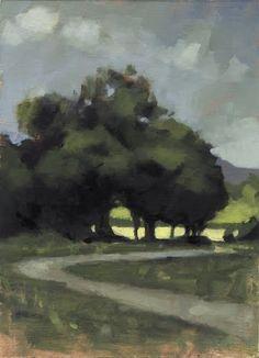 Richard Hearns #landscape #tree #art