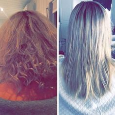 Luxushair Karoline satisfied with LH Keratin Treatment 👏🏽 Before & After! (Picture to left is from first wash) beautiful result! 💗 @karolinekassen www.luxushair.com Keratin, Hair Extensions, Long Hair Styles, Pictures, Beautiful, Beauty, Weave Hair Extensions, Photos, Extensions Hair