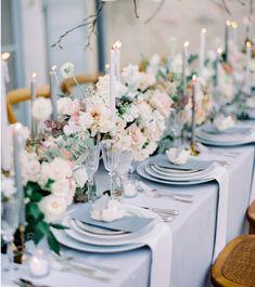 Elegant Wedding, Floral Wedding, Dream Wedding, Luxury Wedding, Wedding Blog, Wedding Centerpieces, Wedding Decorations, Table Decorations, Cream Wedding Colors