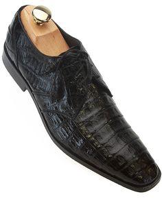 Los Altos Black Alligator Belly Dress Shoes  $399.99  http://shopbigtime.com/shop/all/BGT00796-los-altos-los-altos-black-alligator-belly-dress-shoes  #LosAltosShoes #AlligatorBellyShoes #AlligatorShoes