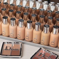 Dior Is the Latest Brand to Launch an Inclusive Foundation Range The new Dior Backstage Collection features an impressive foundation range - Schönheit von Make-up Dior Makeup, Skin Makeup, Makeup Cosmetics, Beauty Makeup, Makeup Pouch, Makeup Set, Makeup Brands, Best Makeup Products, Lush Products