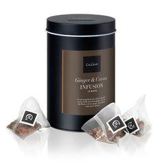 Opposites attract: cool, crisp peppermint meets malty cacao shells in this refreshing tea infusion. Buy peppermint and cocoa tea bags online from Hotel Chocolat! Hotel Chocolate, Luxury Chocolate, Chocolate Gifts, How To Make Chocolate, Chocolate Lovers, Cooking Chocolate, Low Carb Chocolate, Vegan Chocolate, Cocoa Tea