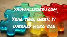 All For Bu: Year Two, Week 14 (66th Weekly Video!)...supplements, progress videos, video, MB12 shots, sick, ABA, pediatrician, EEG, medicaid waiver, progress, autism