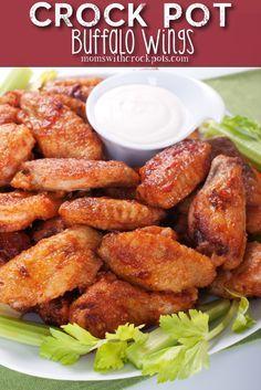 Crock Pot Buffalo Wings Recipe! Super for football season!
